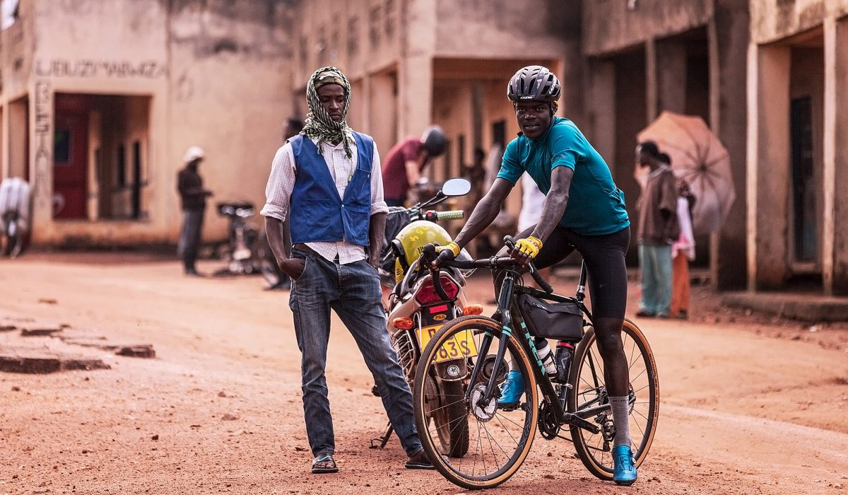 I met Jean Eric Habimana at Race Around Rwanda, he rode the last stage of an amateur bikepacking race with us because his focus was on the real deal, The Tour of Rwanda , were he has competing for the first time. Covid hit and prevented him from building on that opportunity and racing in Europe this year.  This isn't a photo of a bike race, but it is a photo of the hope that cycling can give to a young person and is country. Cycling needs more Jean Erics.